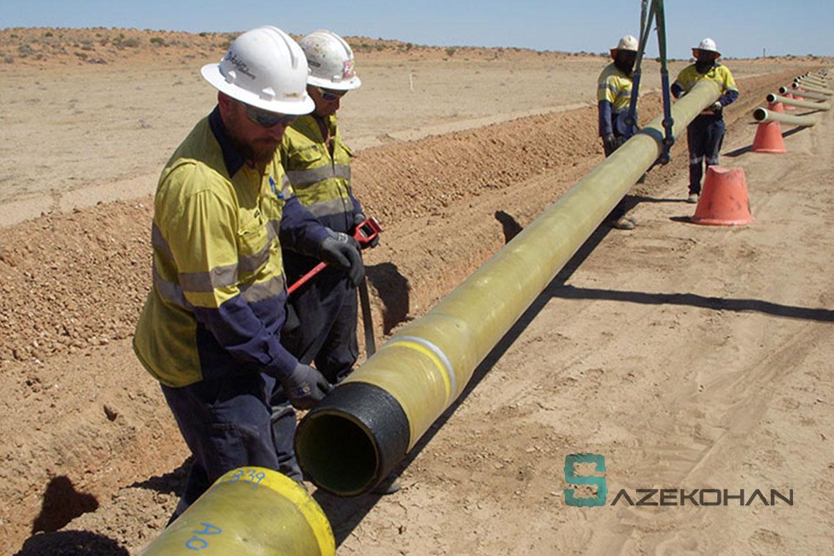 خدمات گاز 2 - خطوط انتقال گاز