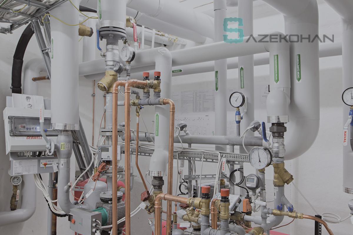 خدمات گاز 1 - نمونه پروژه ها